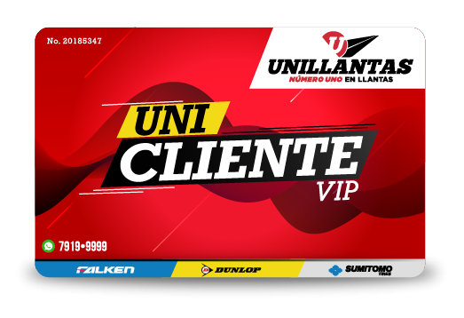 Tarjeta UniclienteVip